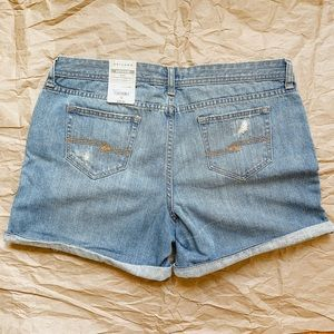 Arizona Women's Jean Shorts Boyfriend Low Rise NWT